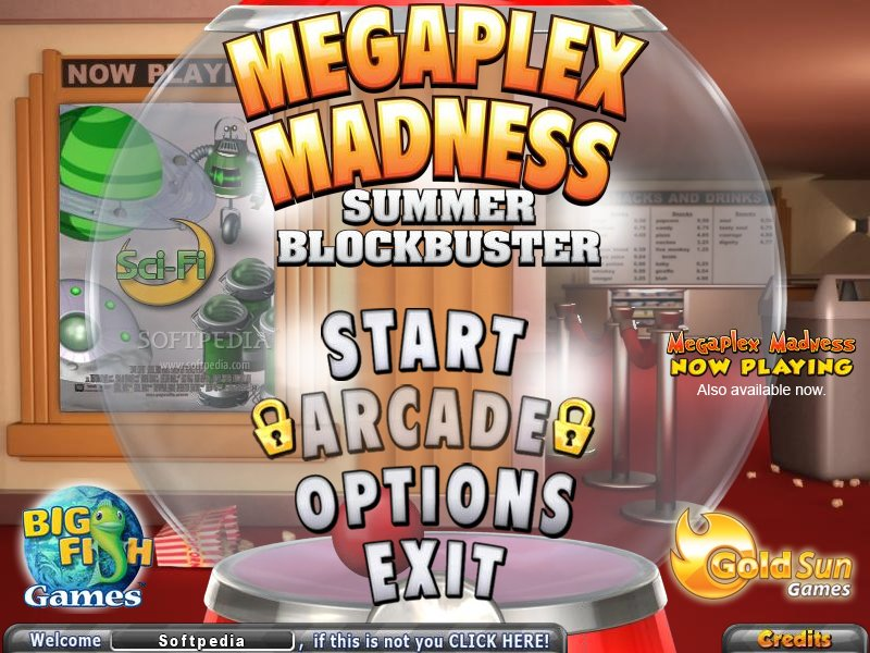 Megaplex Madness: Summer Blockbuster screenshot 1