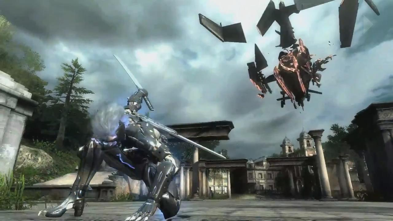 Metal Gear Rising: Revengeance Pre-E3 2012 Trailer screenshot 17