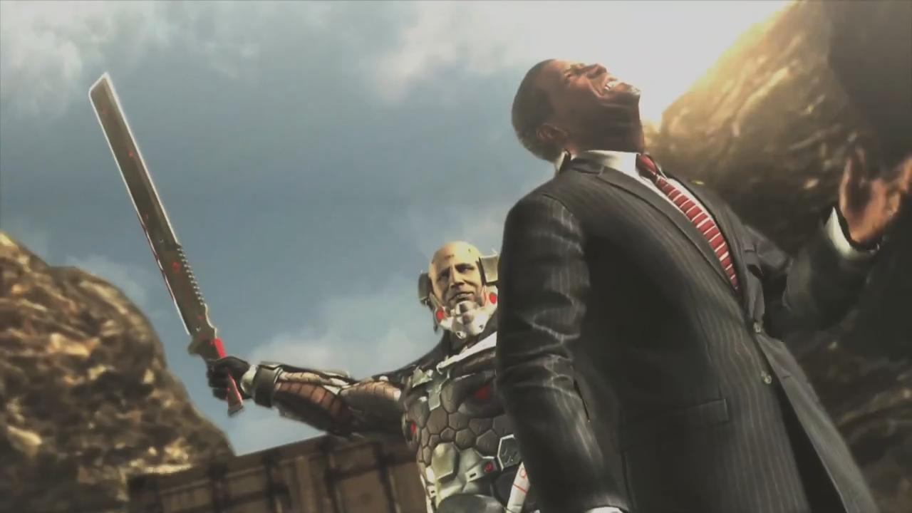 Metal Gear Rising: Revengeance Pre-E3 2012 Trailer screenshot 5