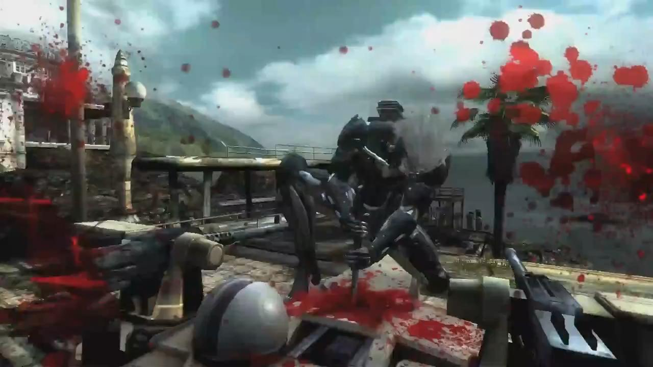 Metal Gear Rising: Revengeance Pre-E3 2012 Trailer screenshot 7