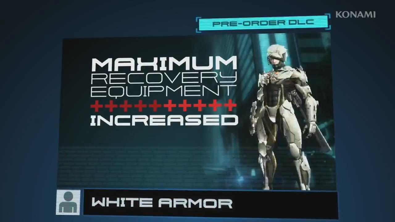 Metal Gear Rising: Revengeance - White Armor Trailer screenshot 1