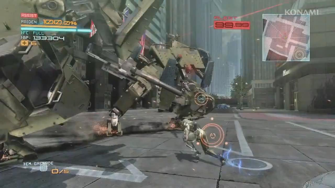Metal Gear Rising: Revengeance - White Armor Trailer screenshot 2