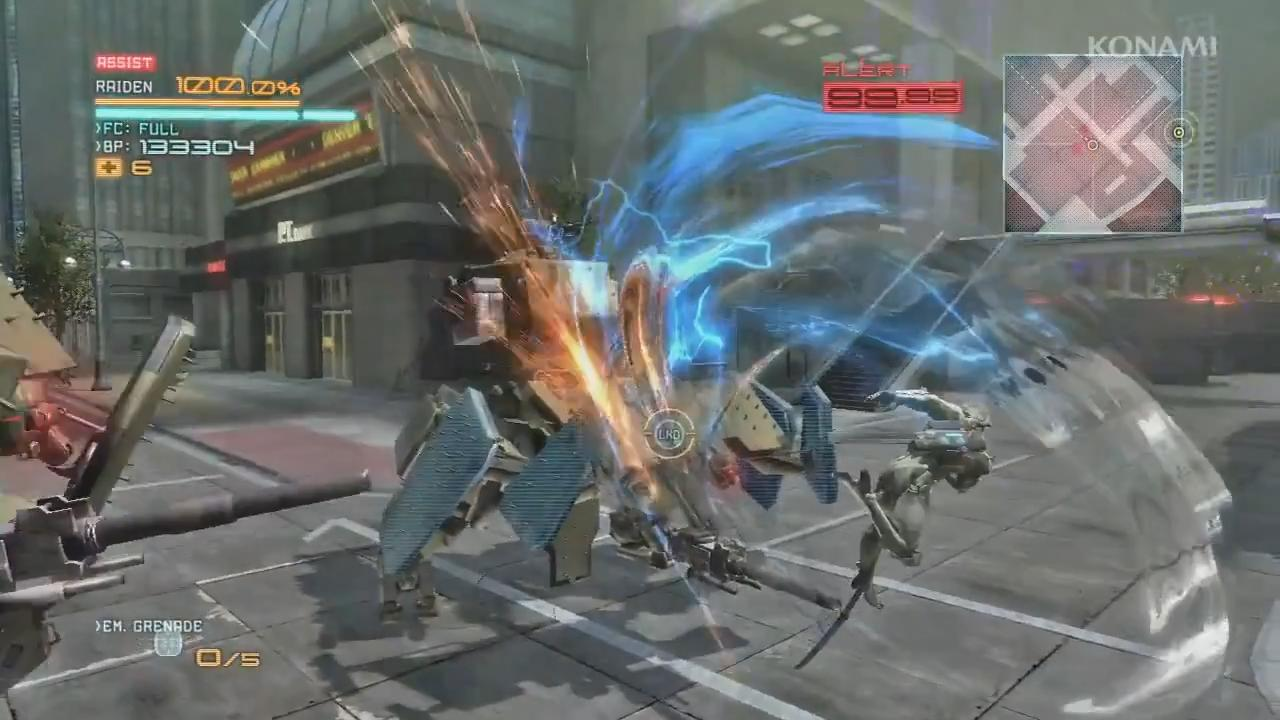 Metal Gear Rising: Revengeance - White Armor Trailer screenshot 3