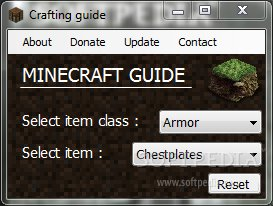 Minecraft Crafting Guide Download