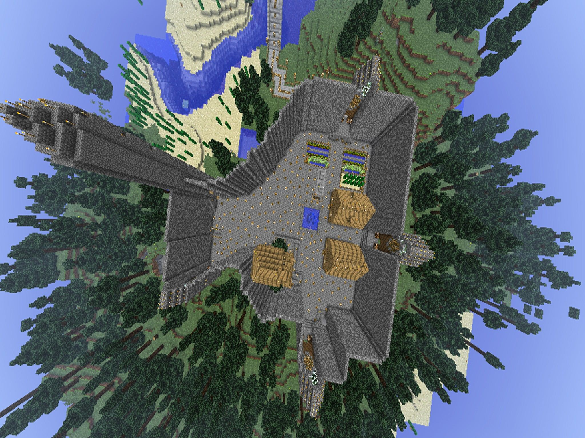 Minecraft Map - Friend World screenshot 1