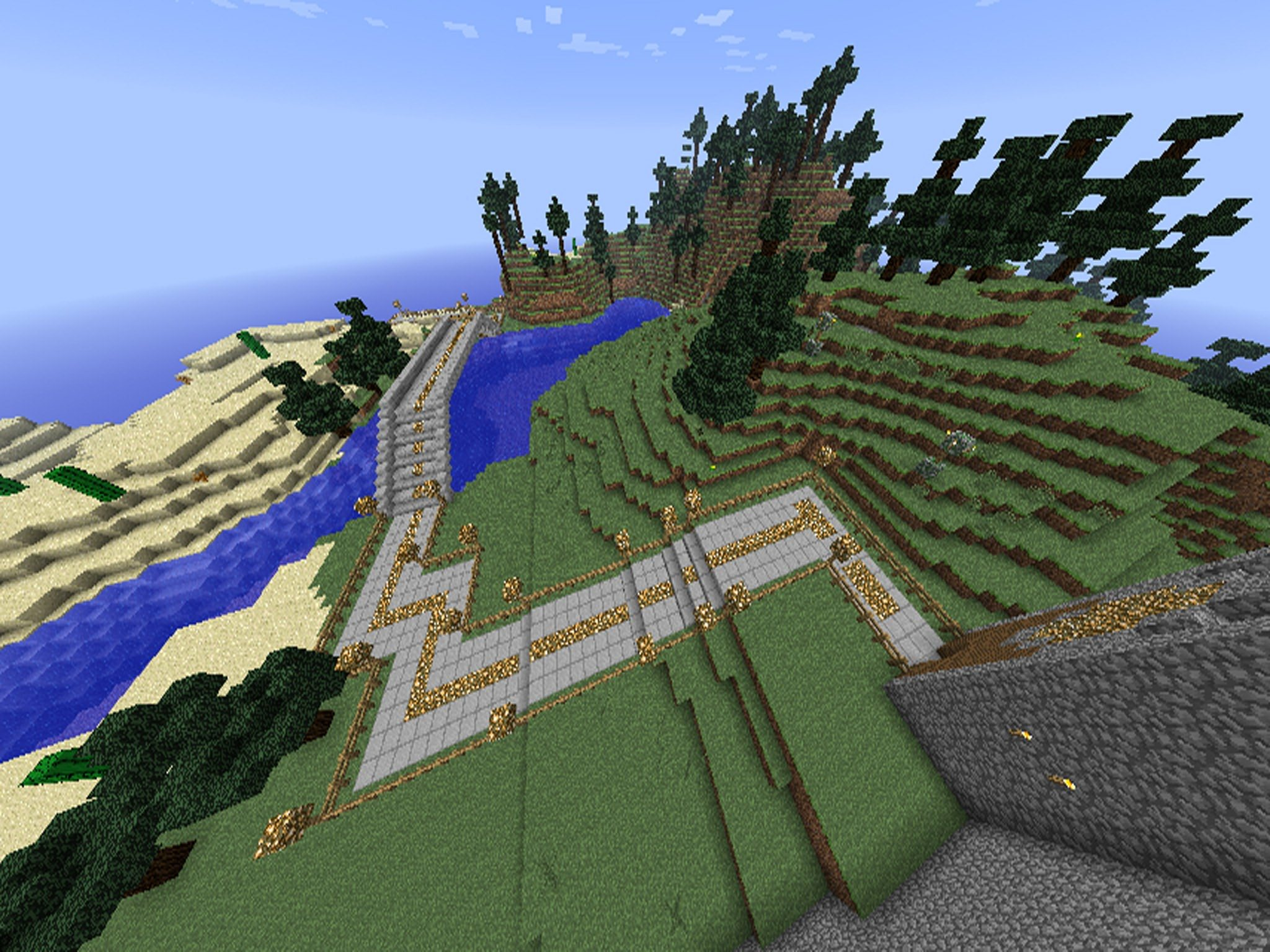 Minecraft Map - Friend World screenshot 4