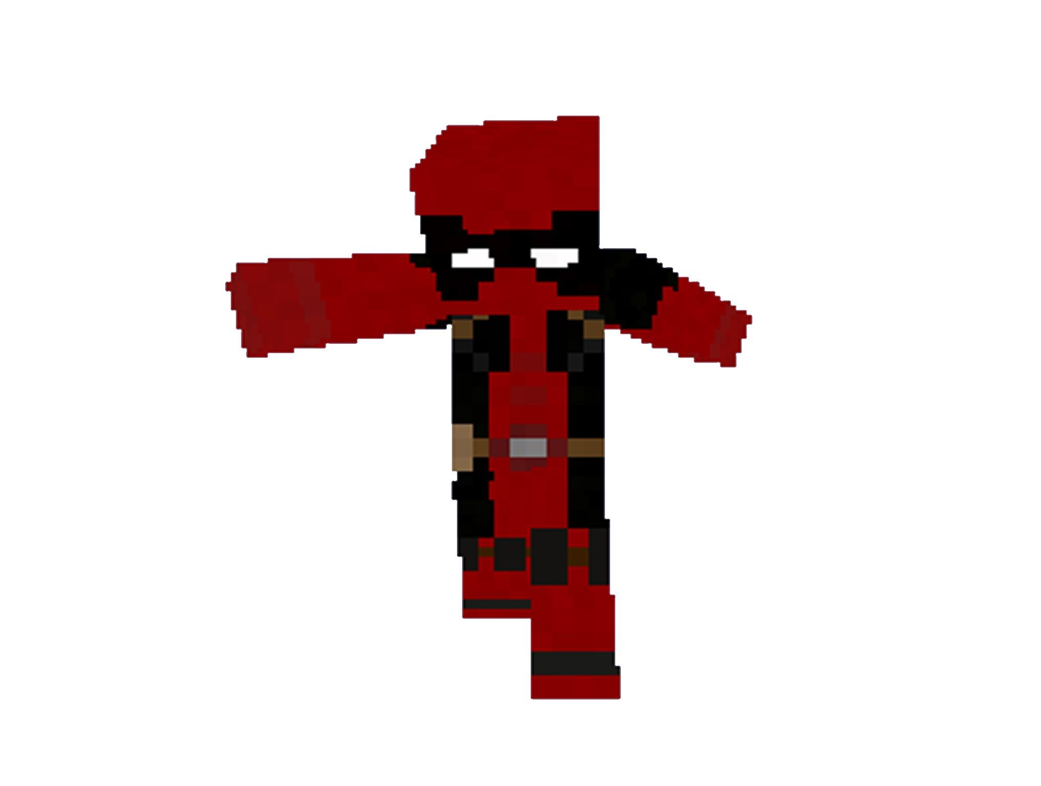 Minecraft Skin Deadpool Download - Deadpool skins fur minecraft