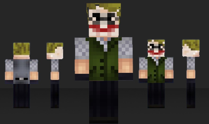 Minecraft Spielen Deutsch Descargar Skins Para Minecraft Pe Joker - Skins para minecraft pe de batman