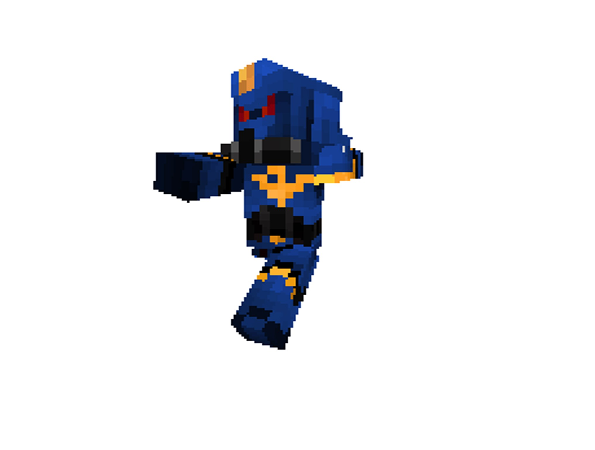 Minecraft skin warhammer 40k ultra marine screenshots