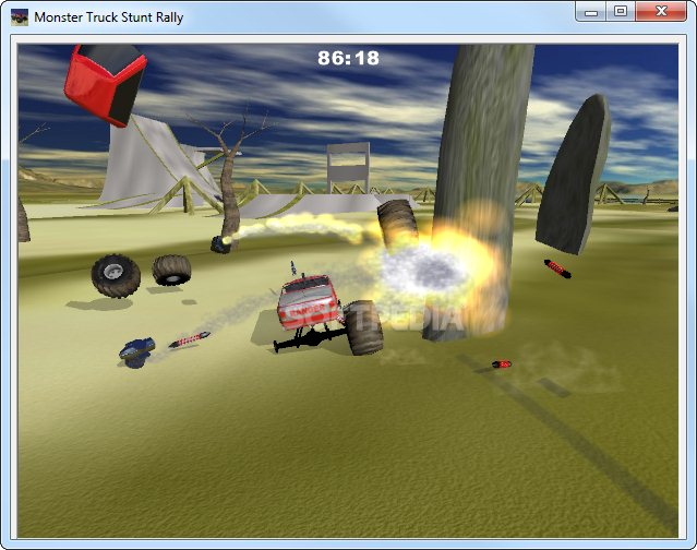 monster truck rally games