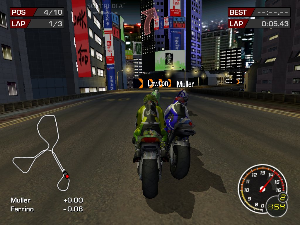 Download Moto GP 03:Utlimate Racing Technology [IDWS]