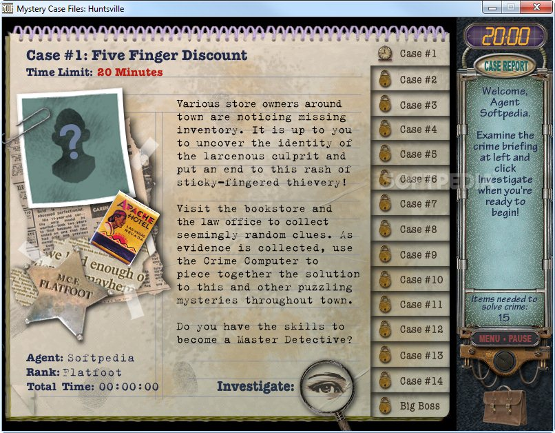 Free Downloadable Mystery Case Files Game Full Version