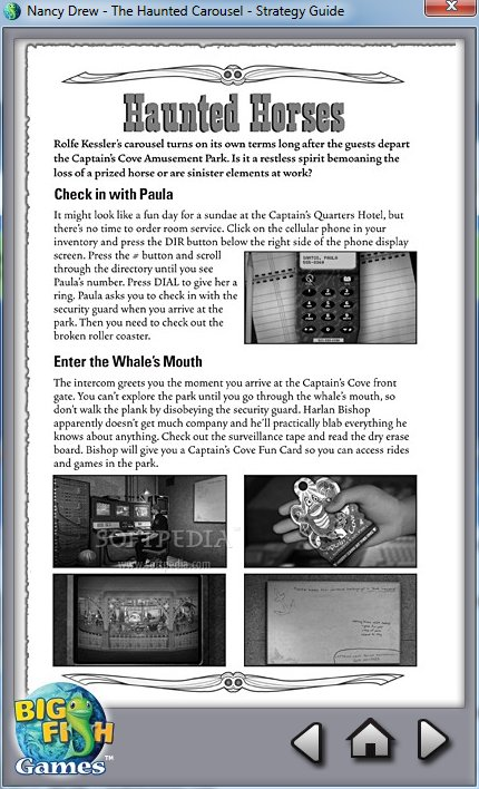 Screenshot 2 of Nancy Drew: The Haunted Carousel Strategy Guide