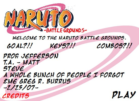 Naruto Battle Grounds screenshot 1