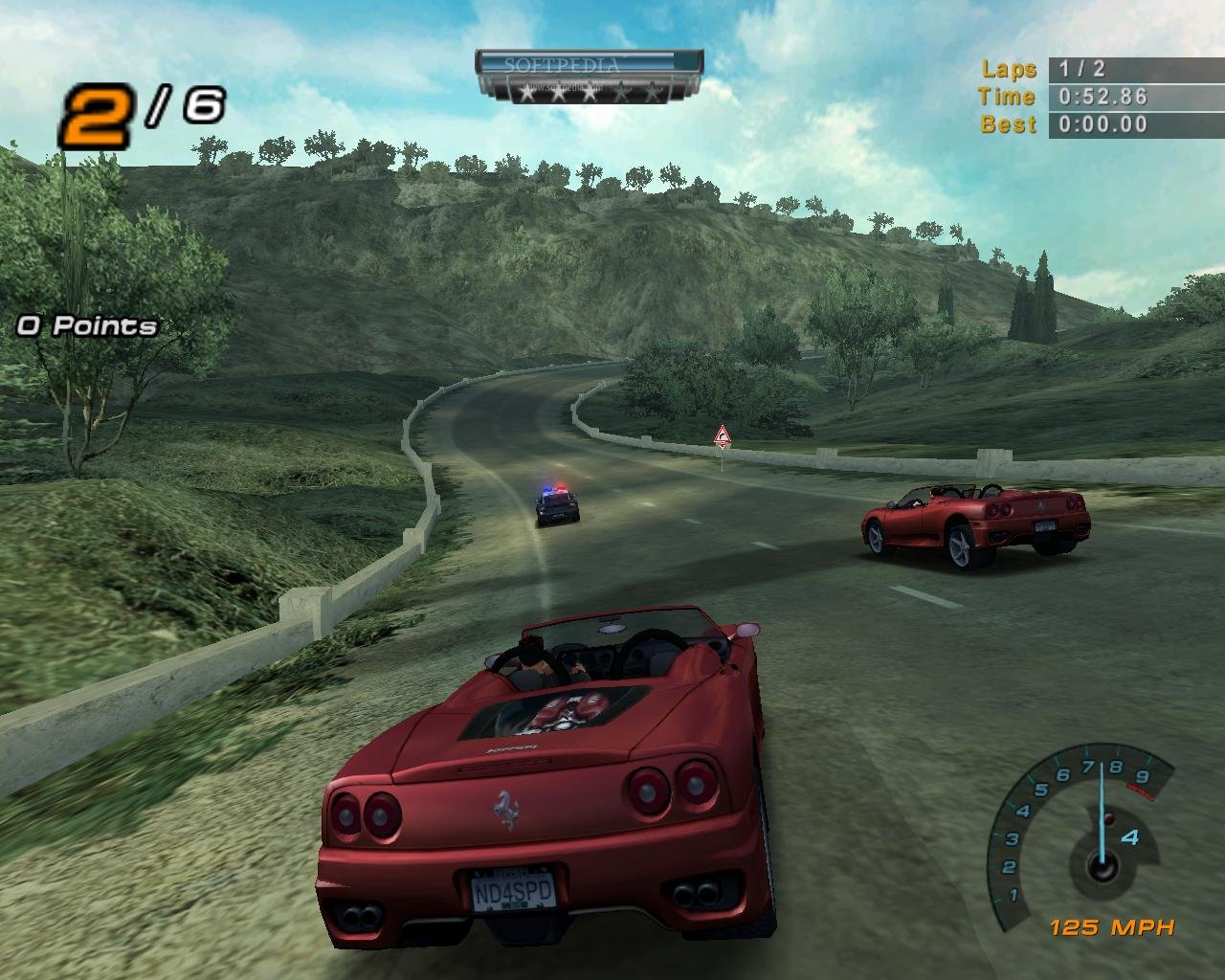Need for Speed Hot Pursuit 2 GAME DEMO - download