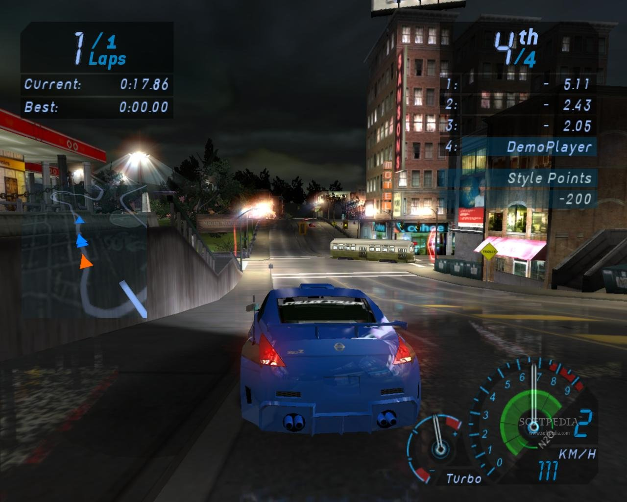 Need For Speed Underground  Best Career Car