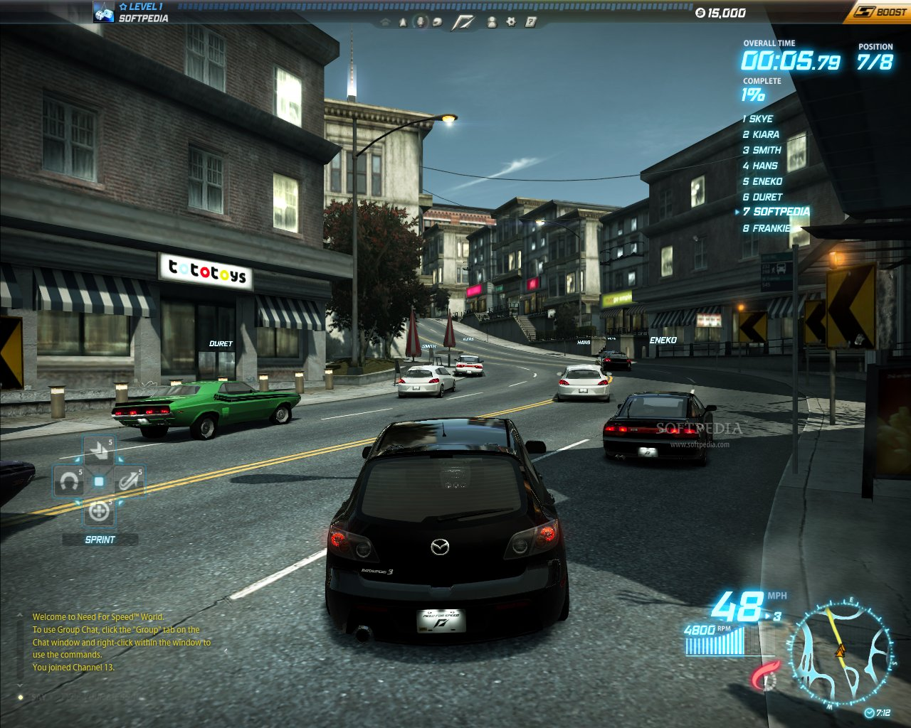 need for speed online play