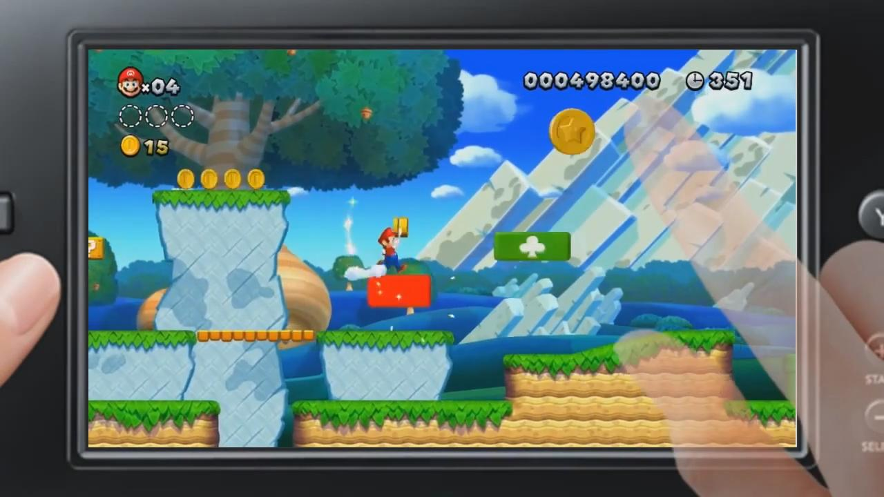 New Super Mario Bros. U: GamePad Gameplay Trailer screenshot 1