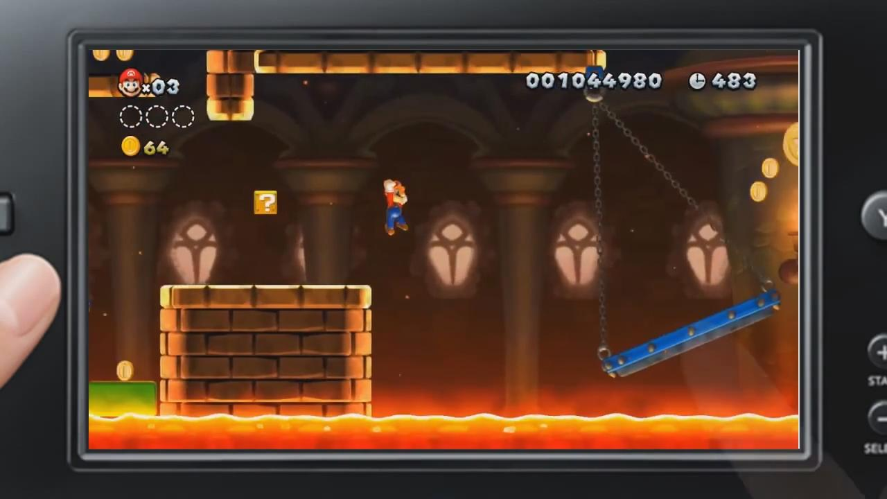 New Super Mario Bros. U: GamePad Gameplay Trailer screenshot 2