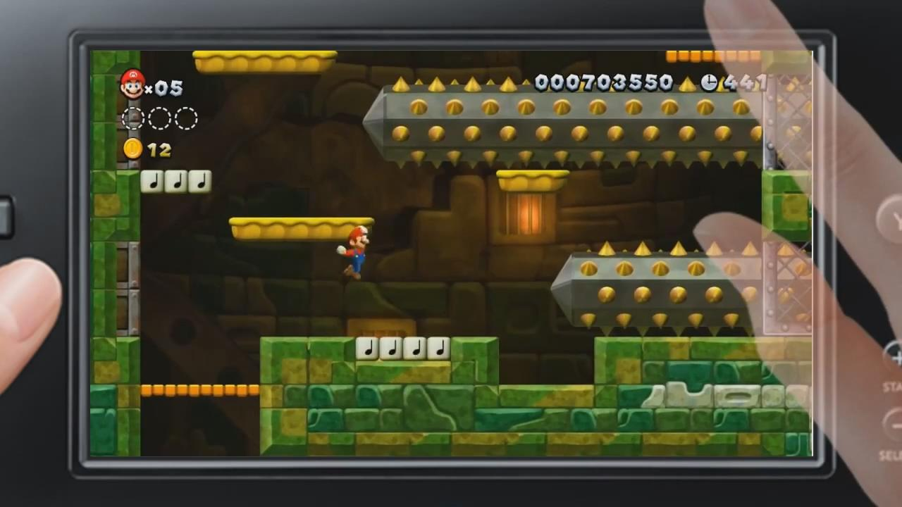 New Super Mario Bros. U: GamePad Gameplay Trailer screenshot 6