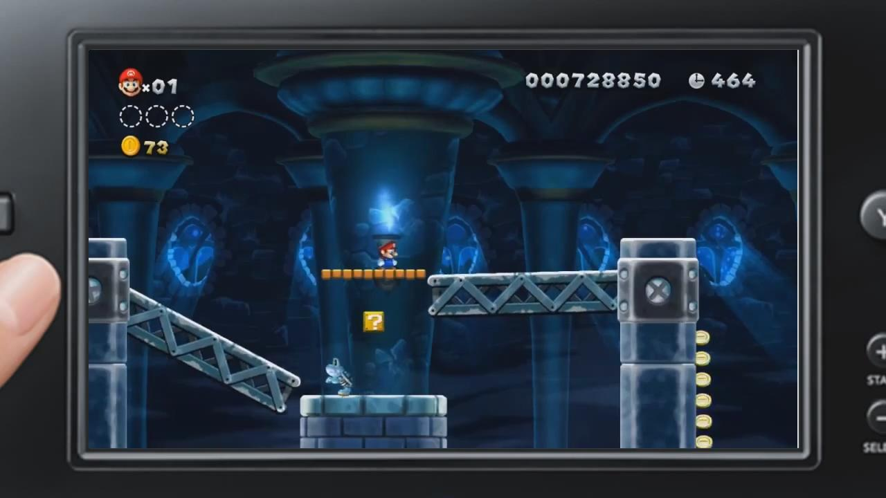 New Super Mario Bros. U: GamePad Gameplay Trailer screenshot 7