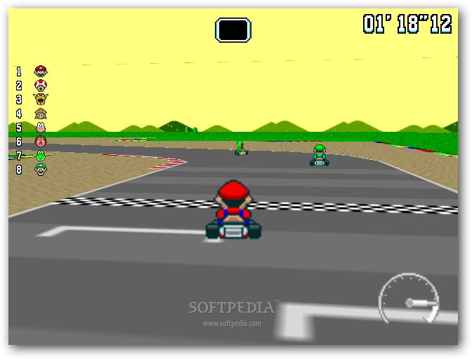 New Super Mario Kart screenshot 5