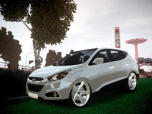 GTA IV Addon - Hyundai ix35 DUB screenshot 1