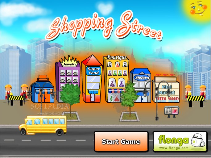 street shopping games
