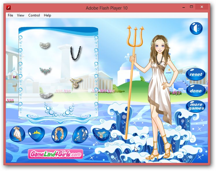 Ocean's Princess Dress Up screenshot 2