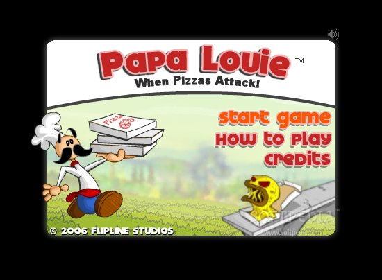 game papa louie 1