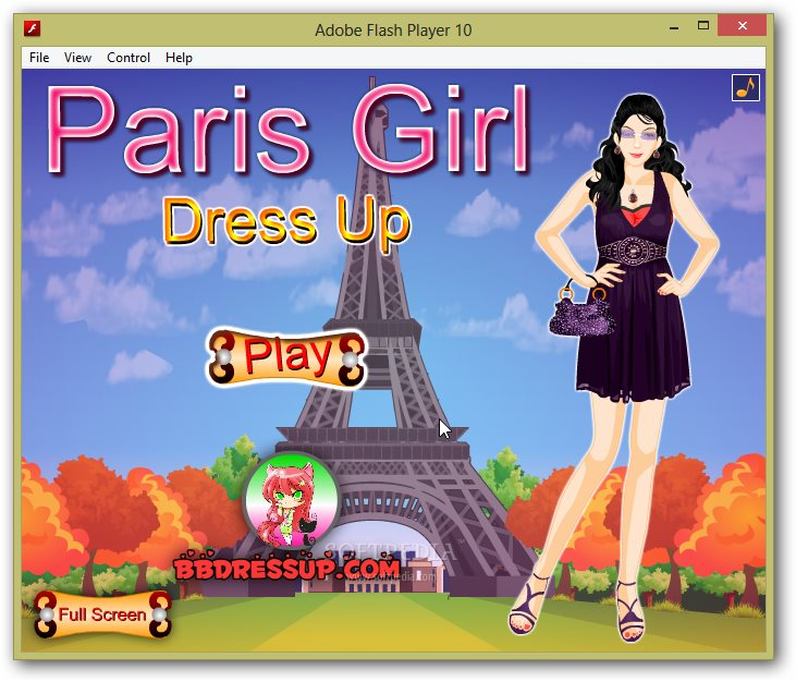 Paris Girl Dress Up screenshot 1