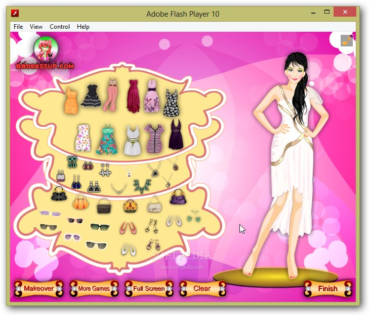 Paris Girl Dress Up screenshot 3