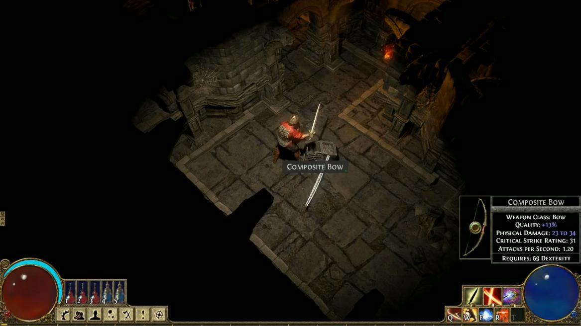 Screenshot 3 of path of exile july gameplay trailer