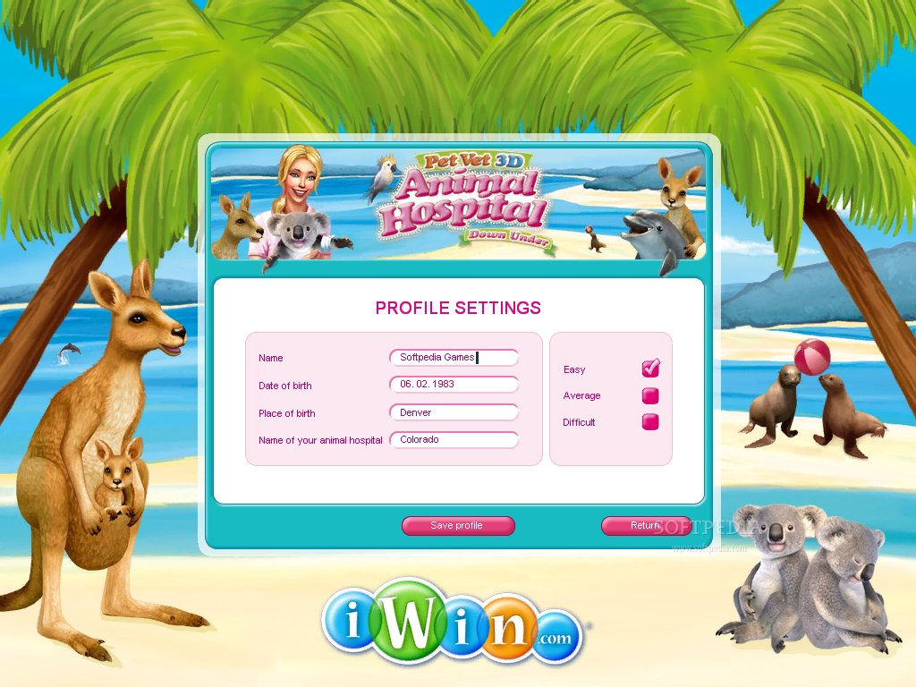 Pet Vet 3D Down Under screenshot 3