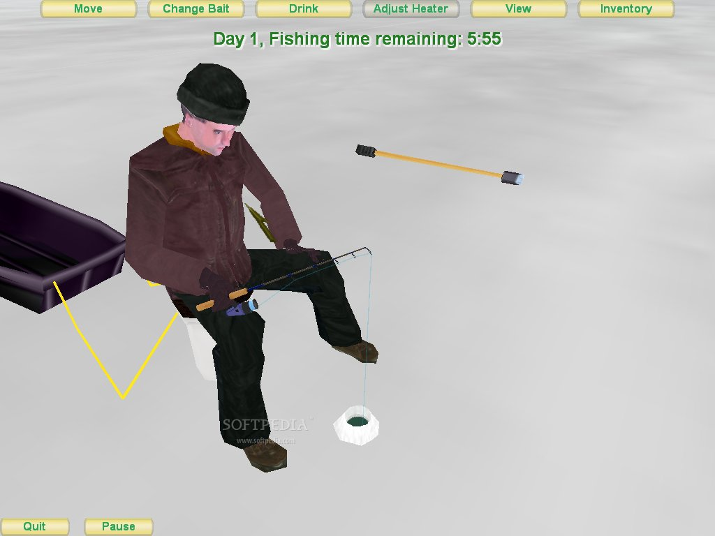 Realistic Ice Fishing Game - Play online at Y8.com
