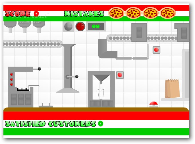 Pizzashack screenshot 2