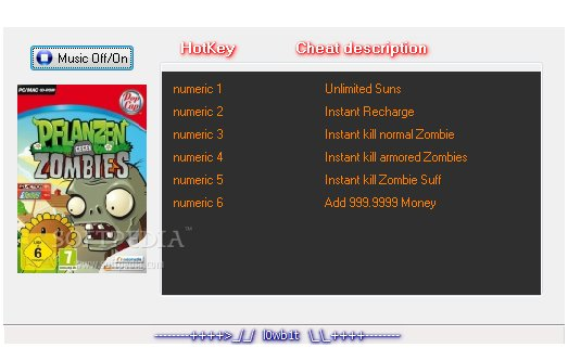 Plants vs Zombies +6 Trainer for 1 2 0 1093 Download