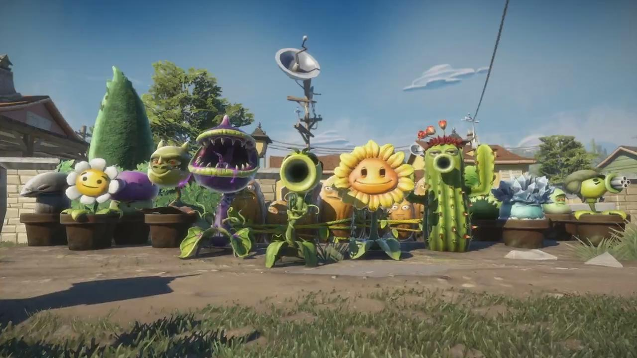Screenshot 3 of plants vs zombies garden warfare official e3 reveal