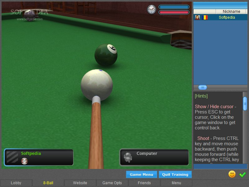 real billiard online