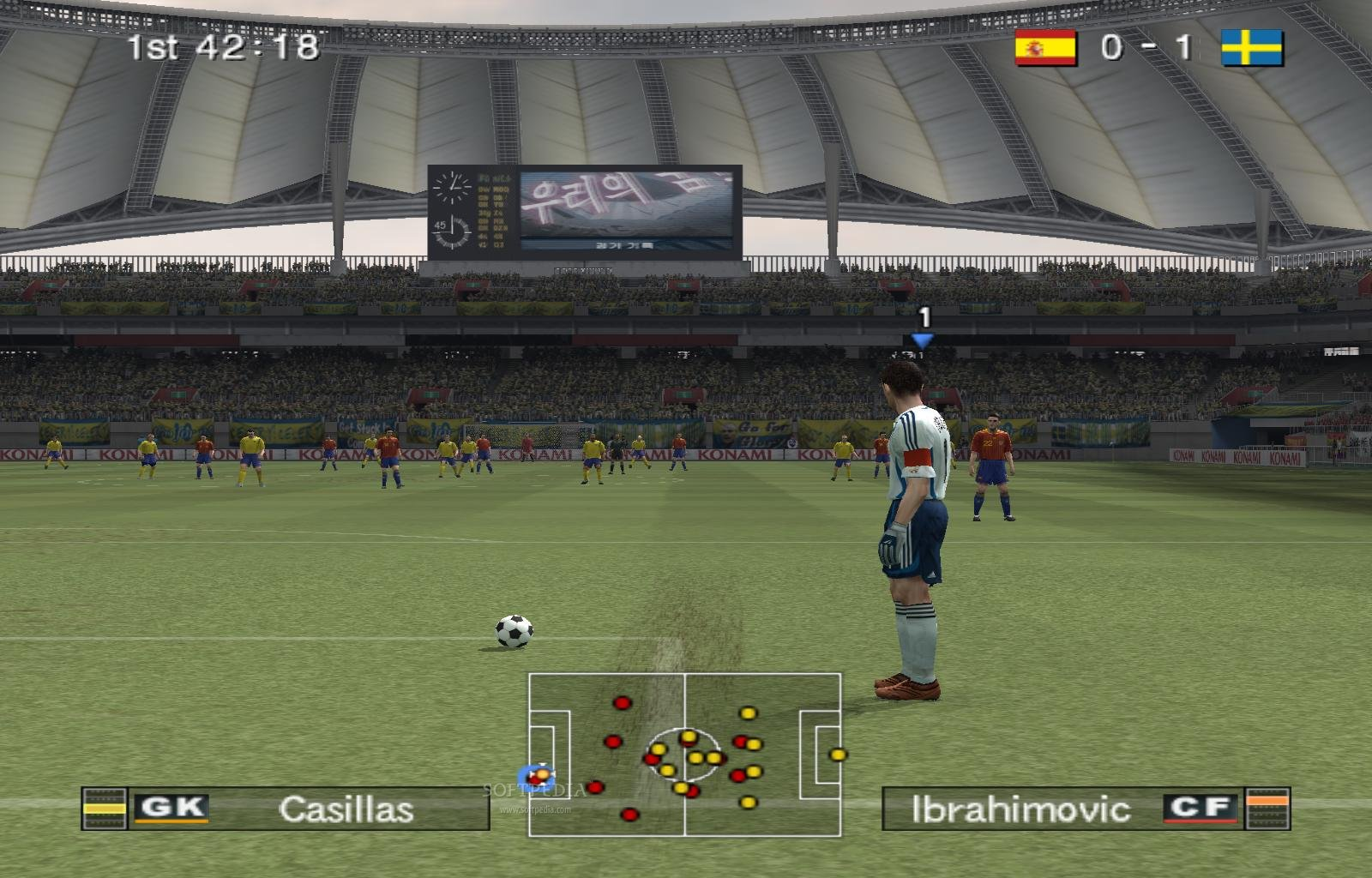 Pro Evolution Soccer 6 Demo