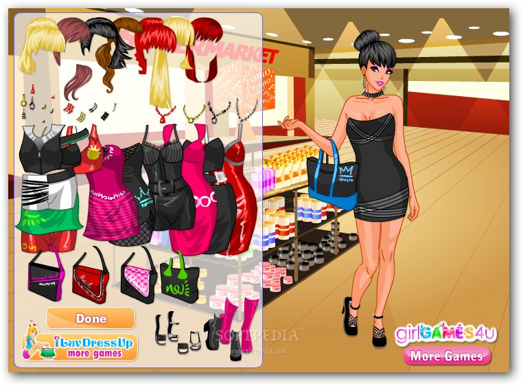 Promotional Model Dress Up screenshot 1
