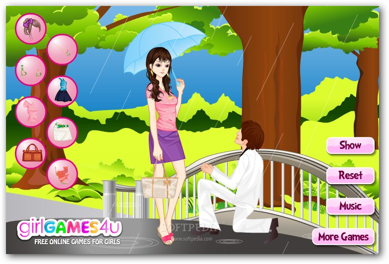 Proposal In The Rain screenshot 2