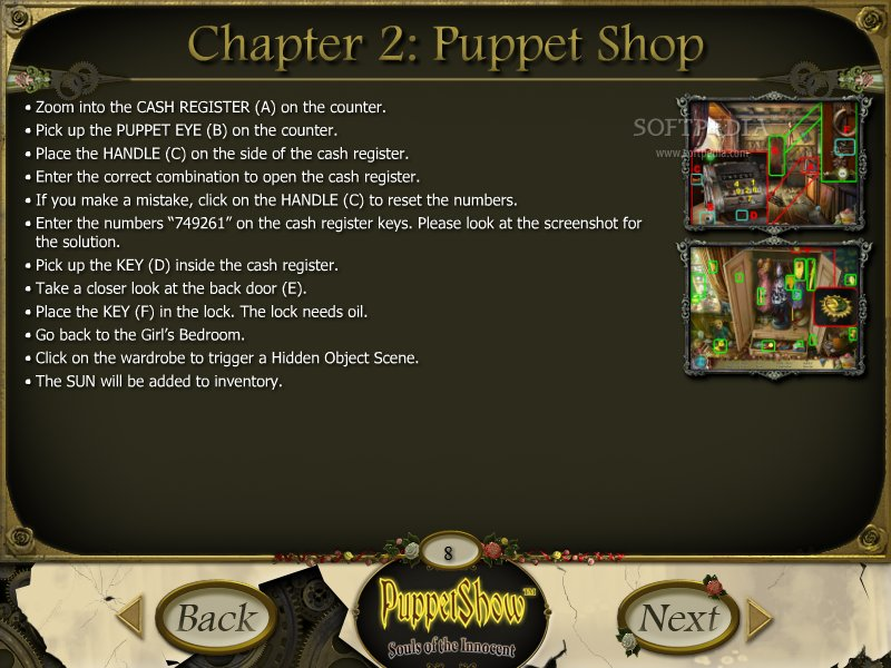 PuppetShow: Souls of the Innocent Strategy Guide screenshot 3
