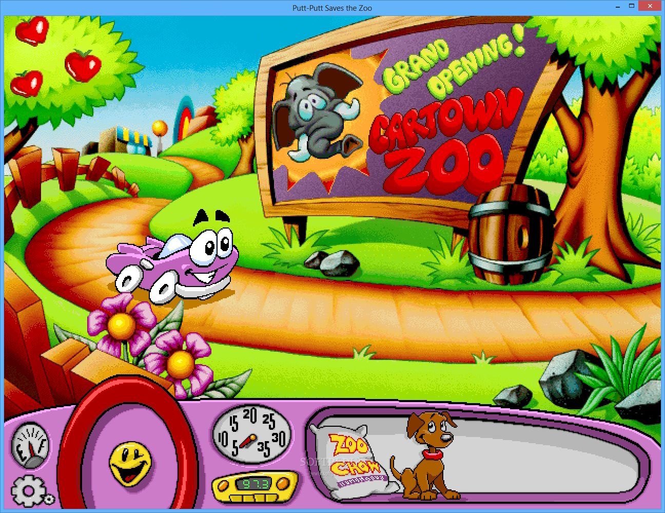 Putt Putt The Car Games Free Download
