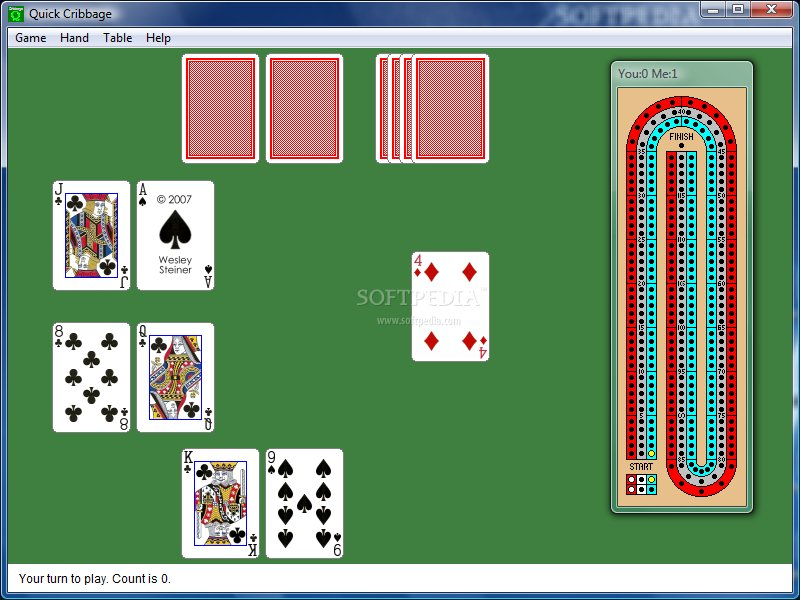 Quick Cribbage screenshot 2