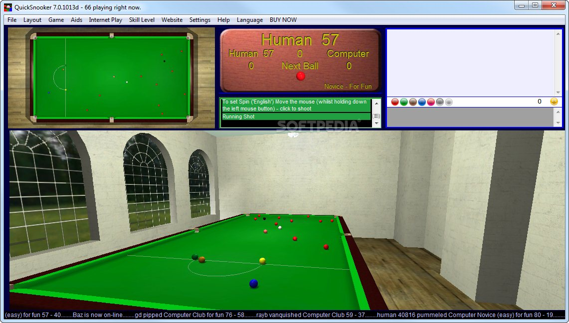 QuickSnooker screenshot 2