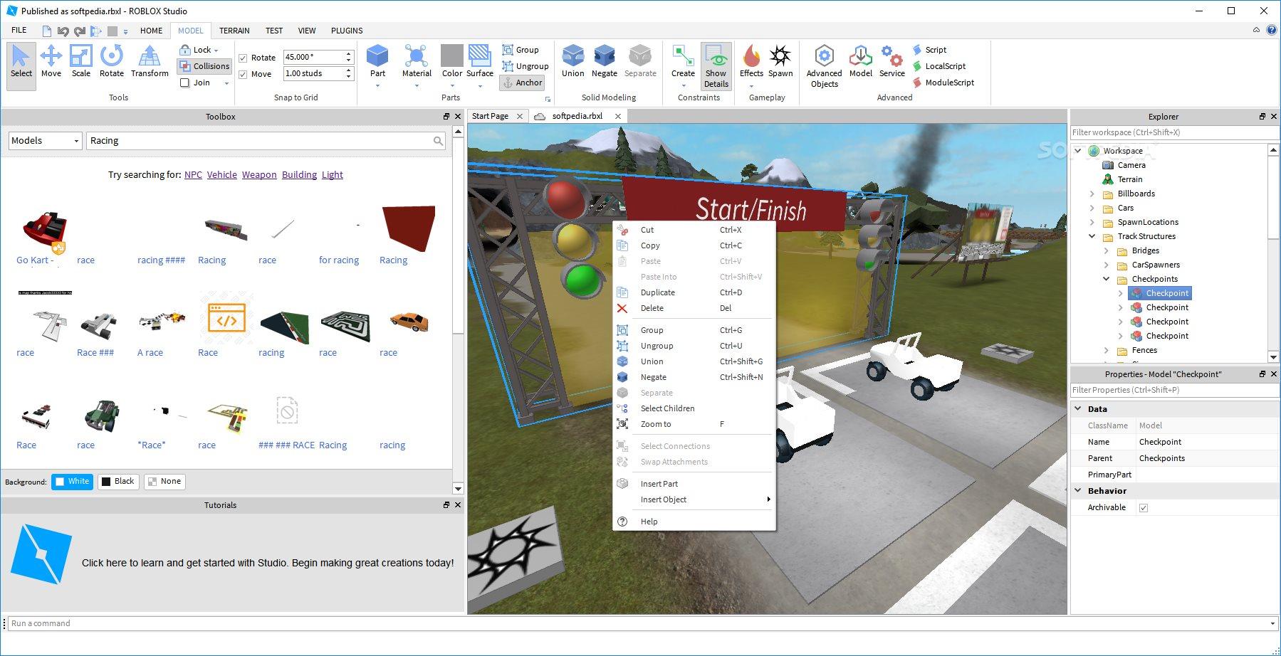 Roblox Studio Checkpoint Roblox Studio Download