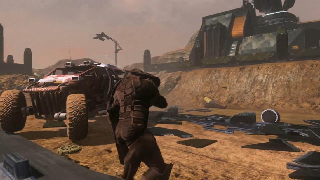 Red Faction: Guerrilla Story Trailer screenshot 2