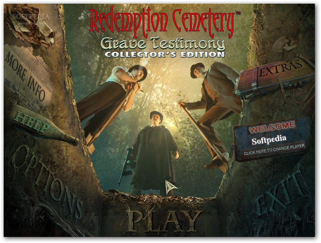Redemption Cemetery: Grave Testimony Collector's Edition screenshot 1