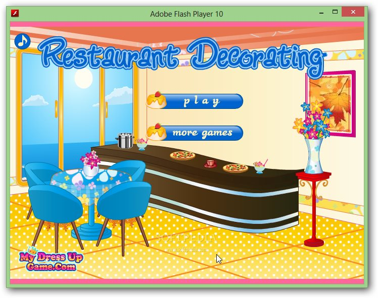 Restaurant Decorating Game screenshot 1